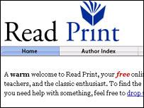 Real Print website