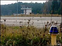 Szczytno-Szymany airfield in north-east Poland