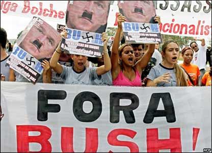 Protestas en Brasilia