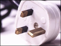 Power plug, BBC