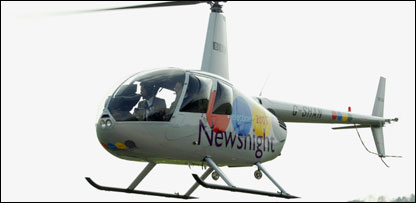 The Newsnight election helicopter