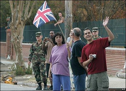 New Orleans bystanders