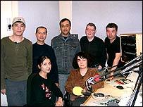 Members of the Tashkent bureau team