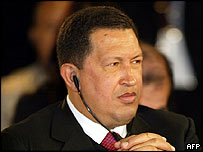 Venezuelan President Hugo Chavez attends final day of summit