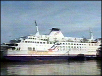 A SeaFrance ferry