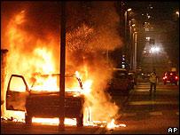 Disturbios en Paris