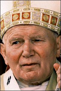 El Papa Juan Pablo II en Cuba en 1998