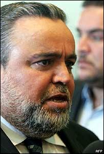 Hajim al-Hassani a few days before his election