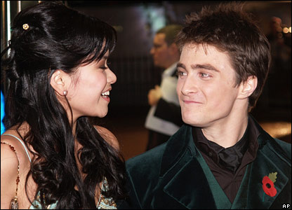 Katie Leung and Daniel Radcliffe