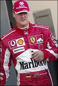 Michael Schumacher retires early