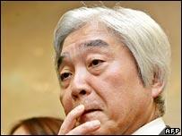 JAL chief executive Toshiyuki Shinmachi