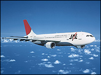 Japan Airlines Airbus A300