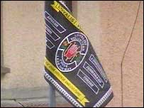 Initiative wants all paramilitary flags removed