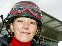 Carrie Ford at Aintree