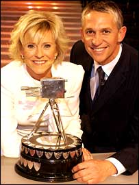 Sue Barker and Gary Lineker