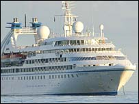 The Seabourn Sprit