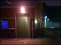 The warehouse at the centre of the allegations