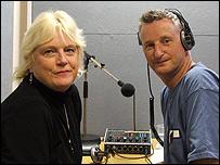 Maxine Edgington and Billy Bragg