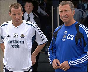 Lee Bowyer and Graeme Souness