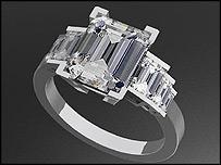 Asda replica of Camilla Parker Bowles' ring