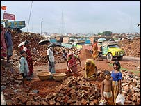 Dhaka brickfields