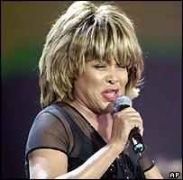 US soul singer Tina Turner