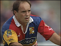 Terry Matterson playing for London in 1997