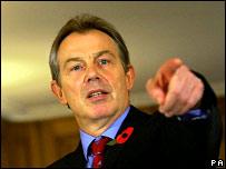 Tony Blair.  Image: John McHugh/AFP Pool/Pa