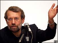 Iran's chief nuclear negotiator Ali Larijani
