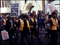 Dole protest march