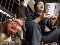 Poultry market in Shanghai