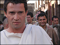 BBC series Rome, filmed in high-definition format