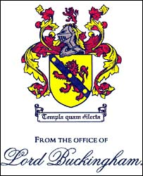 Buckingham coat of arms