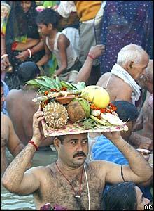 Hindu devotees in India