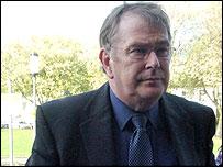 Graham Price outside court
