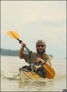 British adventurer Jason Lewis