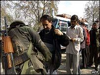 Security search in Srinagar