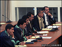 Lawyers for Saddam Hussein and his co-defendants
