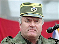 Ratko Mladic in eastern Bosnia, 1995