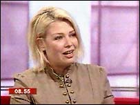 Kim Wilde interviewed on BBC News