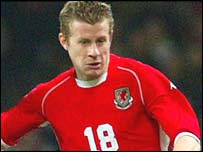 Wales and Cardiff City player Paul Parry