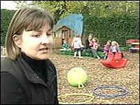 Julie Diggens, chair of Jigsaw pre-school group