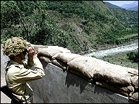 Soldier in Kashmir