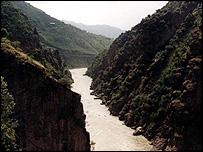 The  Jhelum river