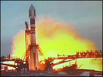 Despegue de la sonda Venus Express.