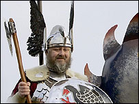Teams of Viking wannabes are taking part
