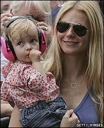 Apple with mum Gwyneth Paltrow