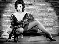 Brooke Shields as Roxie Hart in Chicago