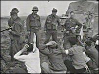 Troops in Korea