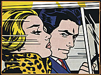 Lichtenstein's In the Car